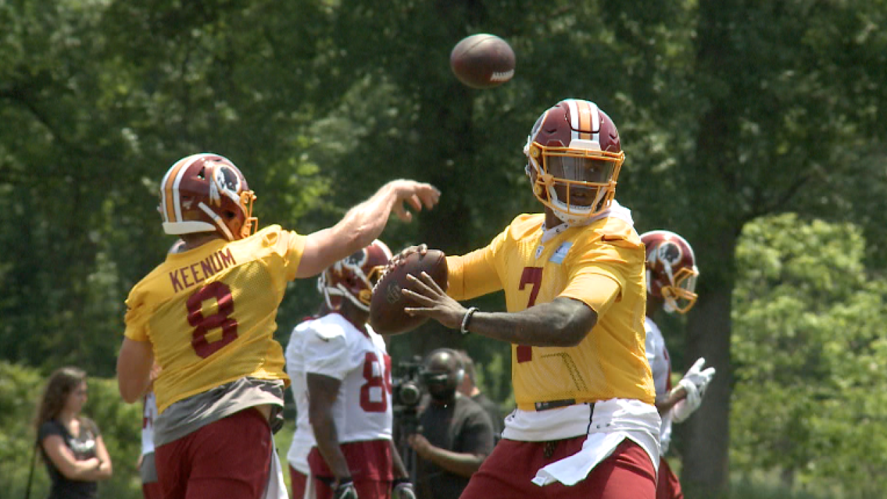 Redskins Report: On assignment at Day 5 of Organized Team Activity