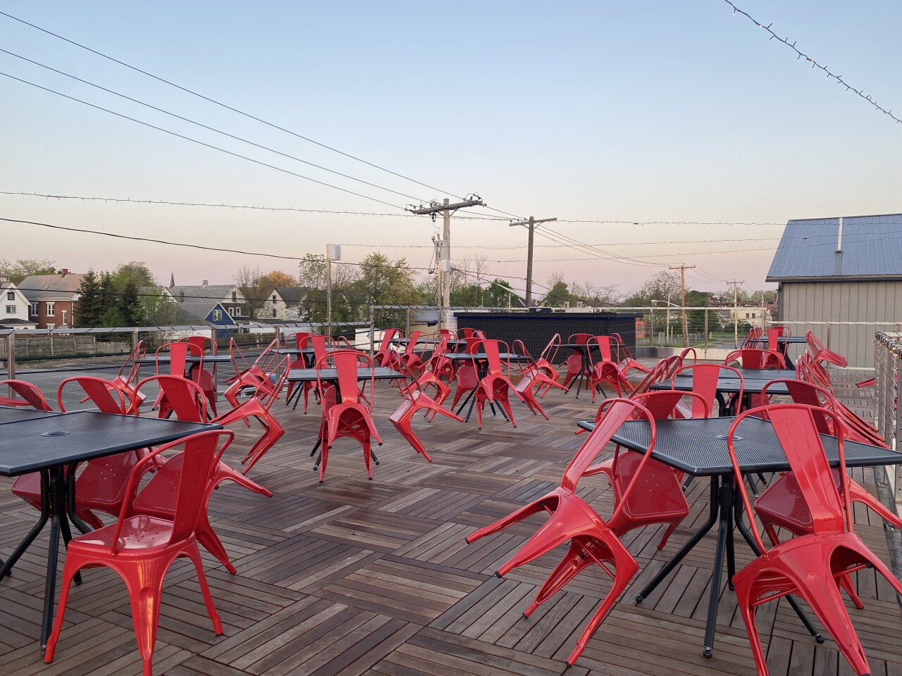 Tappo's Rooftop Patio will have a bar and restaurant service