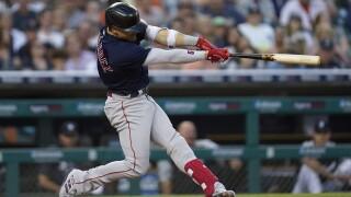 Enrique Hernandez Red Sox Tigers Baseball