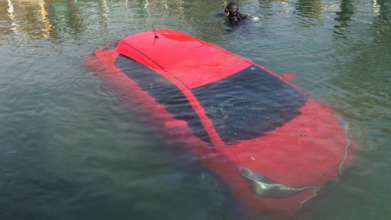 'A little embarrassed': Woman follows car's GPS straight into Lake Huron