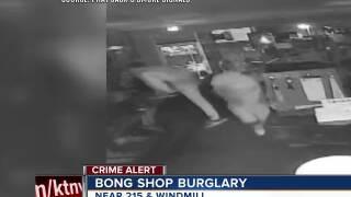 Bong shop burglary in Las Vegas