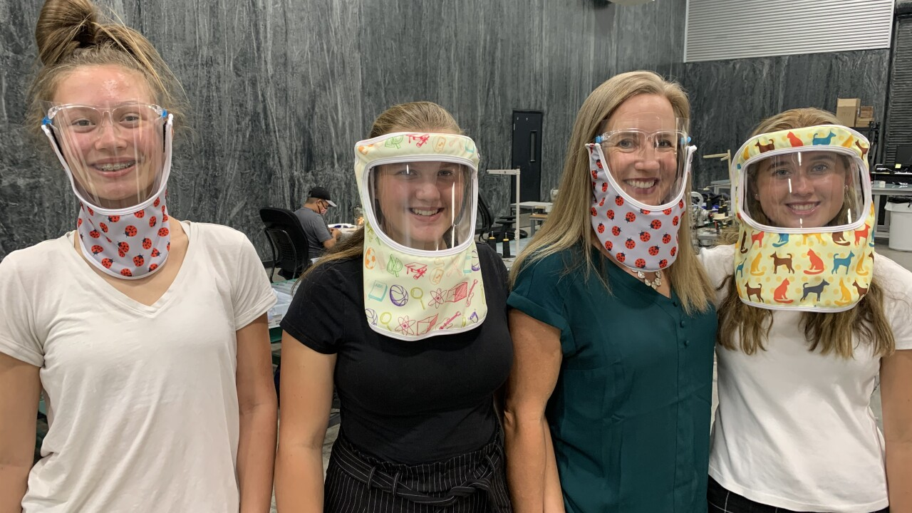Las Vegas company claims new face shield is more comfortable and provides more protection