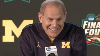 Beilein says he's Columbo to Wright's Clooney