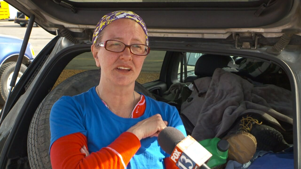 Brigham City woman speaks after spending 7 days stuck on remoteroad