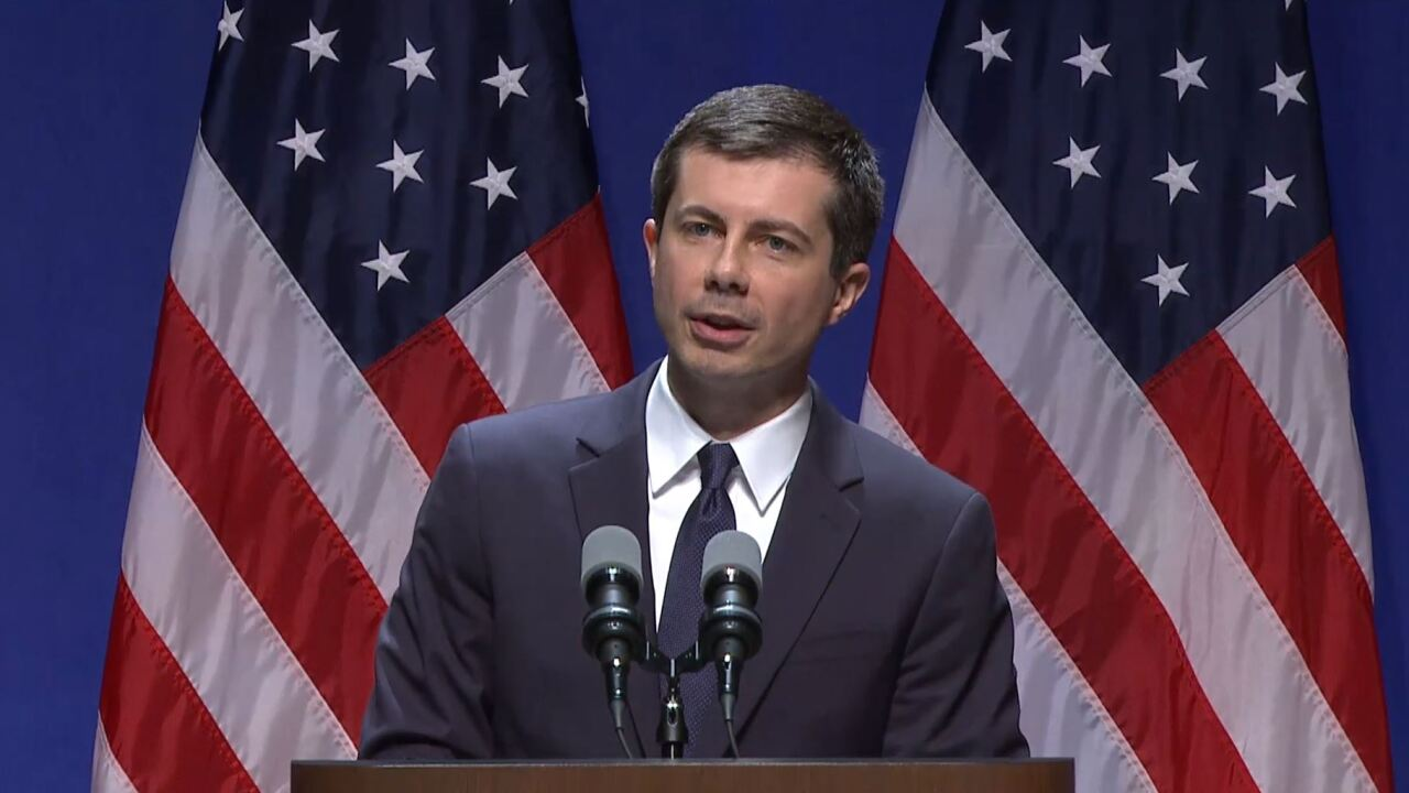 Pete Buttigieg in Bloomington.JPG