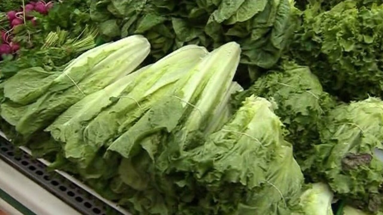 CDC confirms 138 cases of E. coli in 25 states linked to romaine lettuce