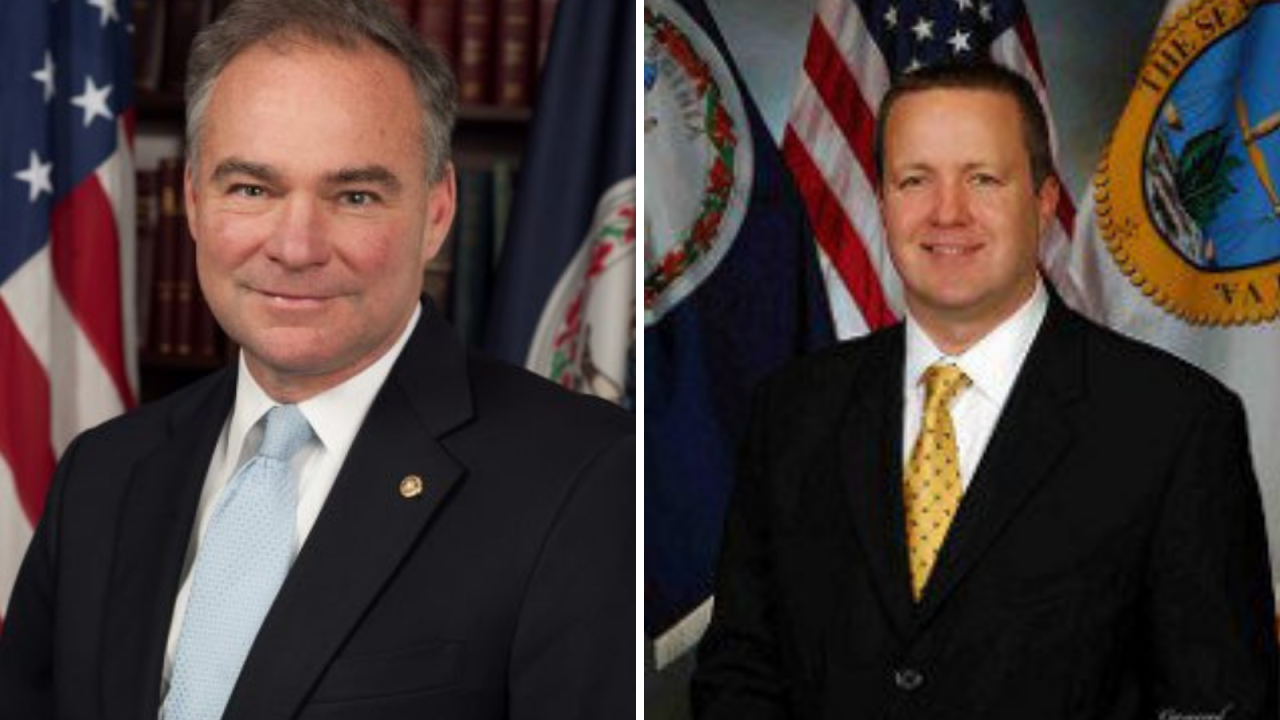 Watch: Tim Kaine and Corey Stewart participate in Town Hall at HamptonUniversity