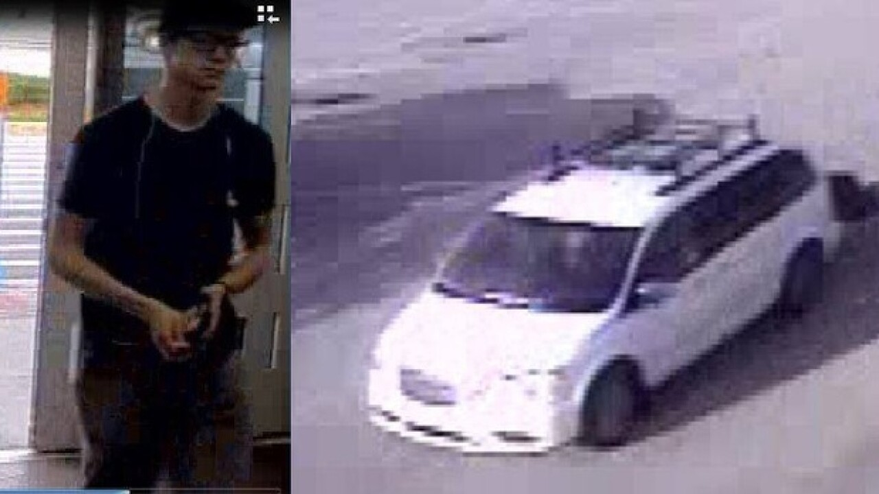 Grand theft suspect sought in Punta Gorda