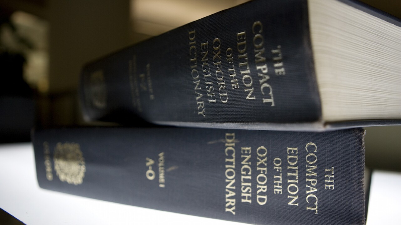 Oxford English Dictionary picks several words of the year for 'unprecedented' 2020