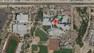 Six Ironwood Ridge High School students are infected with coronavirus, an Amphitheater Public Schools spokeswoman said. Photo via Google Maps.