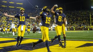 Michigan WR Mike Sainristil fled Haiti as child with family