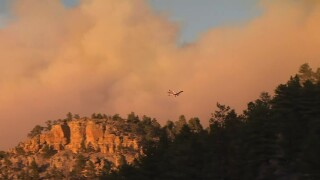 WIldfire NW of Billings has burned more than 8,000 acres