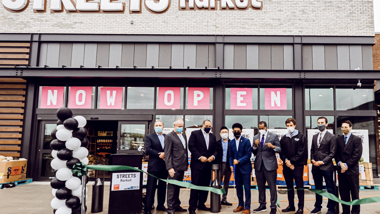 Streets Market Ribbon Cutting