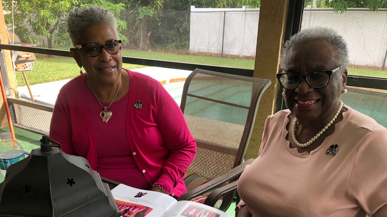 Shirley Cox and Linda Long, Sojourner with Healing Hearts