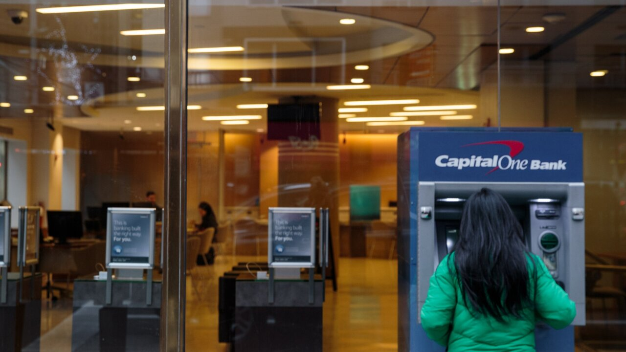 A hacker gained access to 100 million Capital One credit card applications