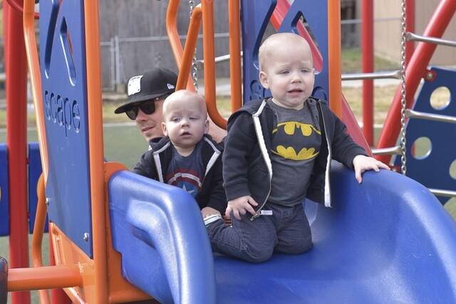 PHOTOS: The Hewitt Triplets