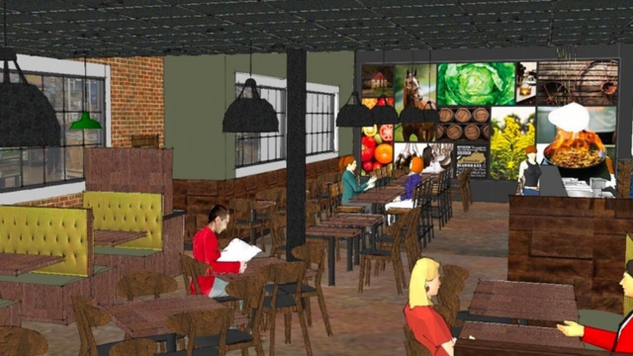 Here's what Kroger wants their first restaurant, Kitchen 1883, to look like