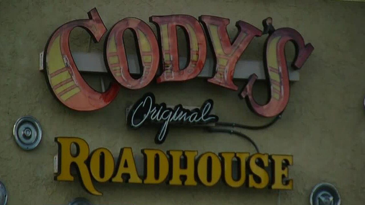 Dirty Dining: Cody's Roadhouse had live roaches