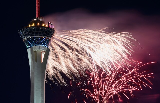 PHOTOS: Fireworks at the Stratosphere hotel-casino | 2018