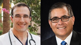 Matt Heinz defeated Pima County Board of Supervisors Chairman Ramon Valadez in the 2020 Democratic primary.