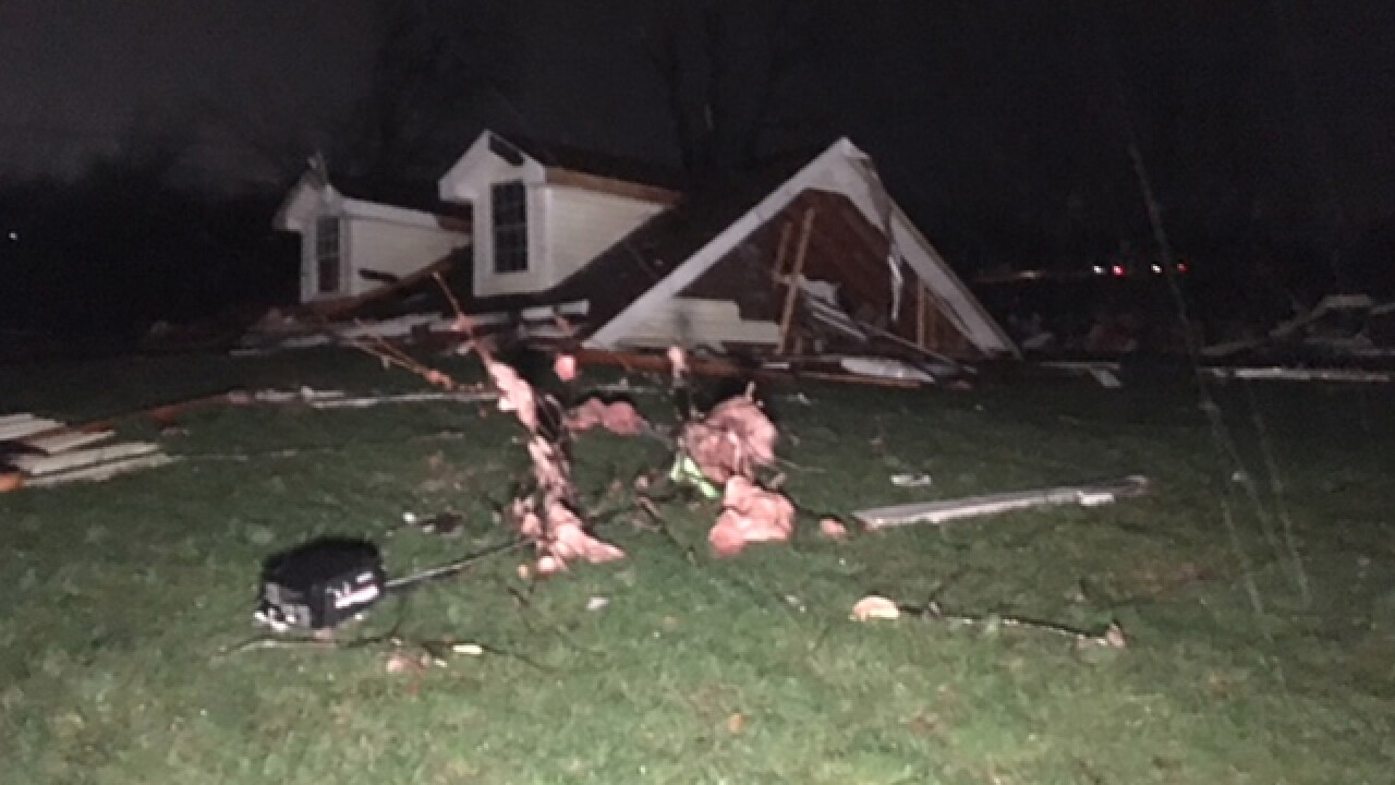 Major Storm Damage Reported In Clarksville