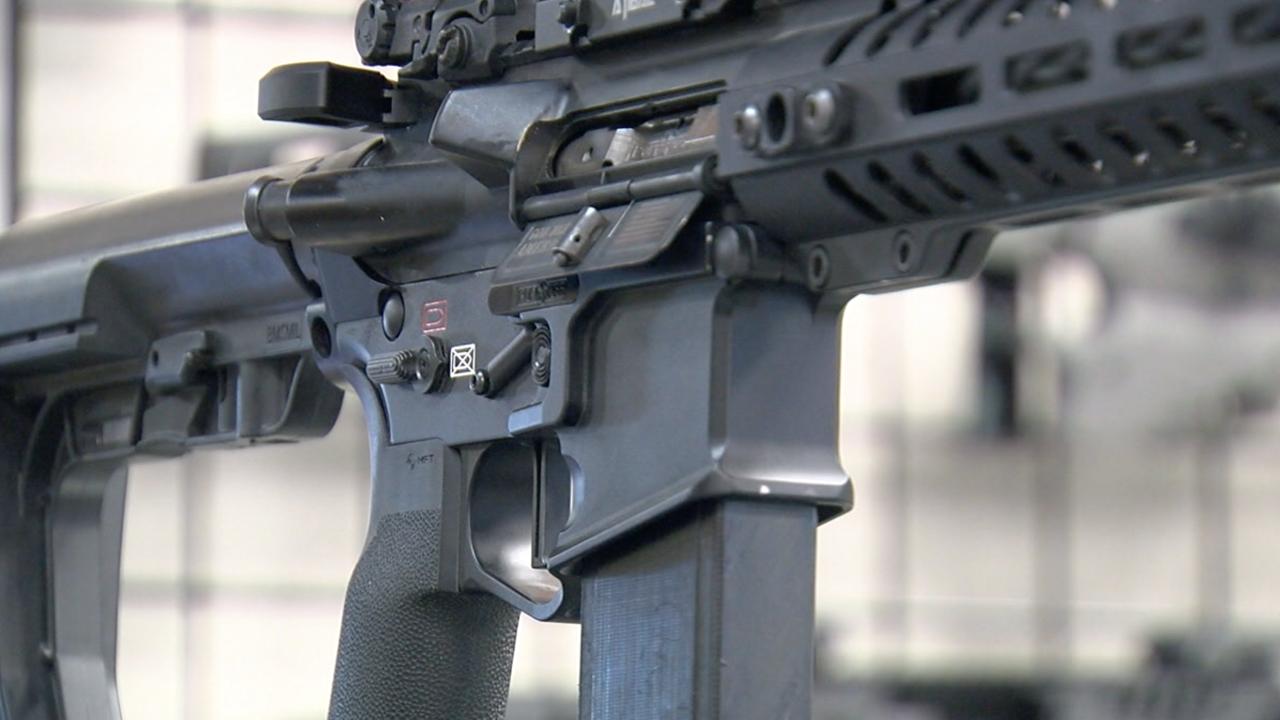 Rifle, gun