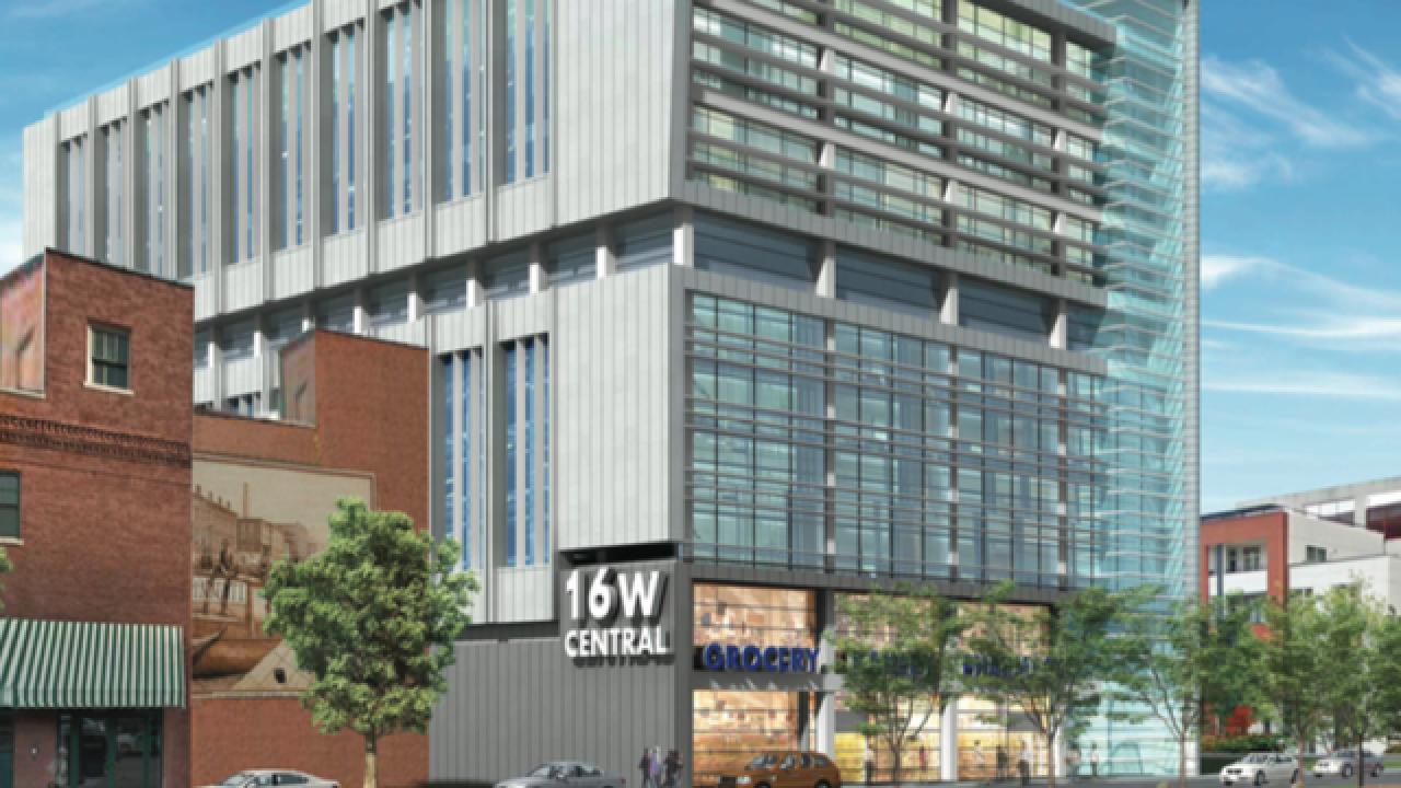 Kroger builder negotiates for Downtown site