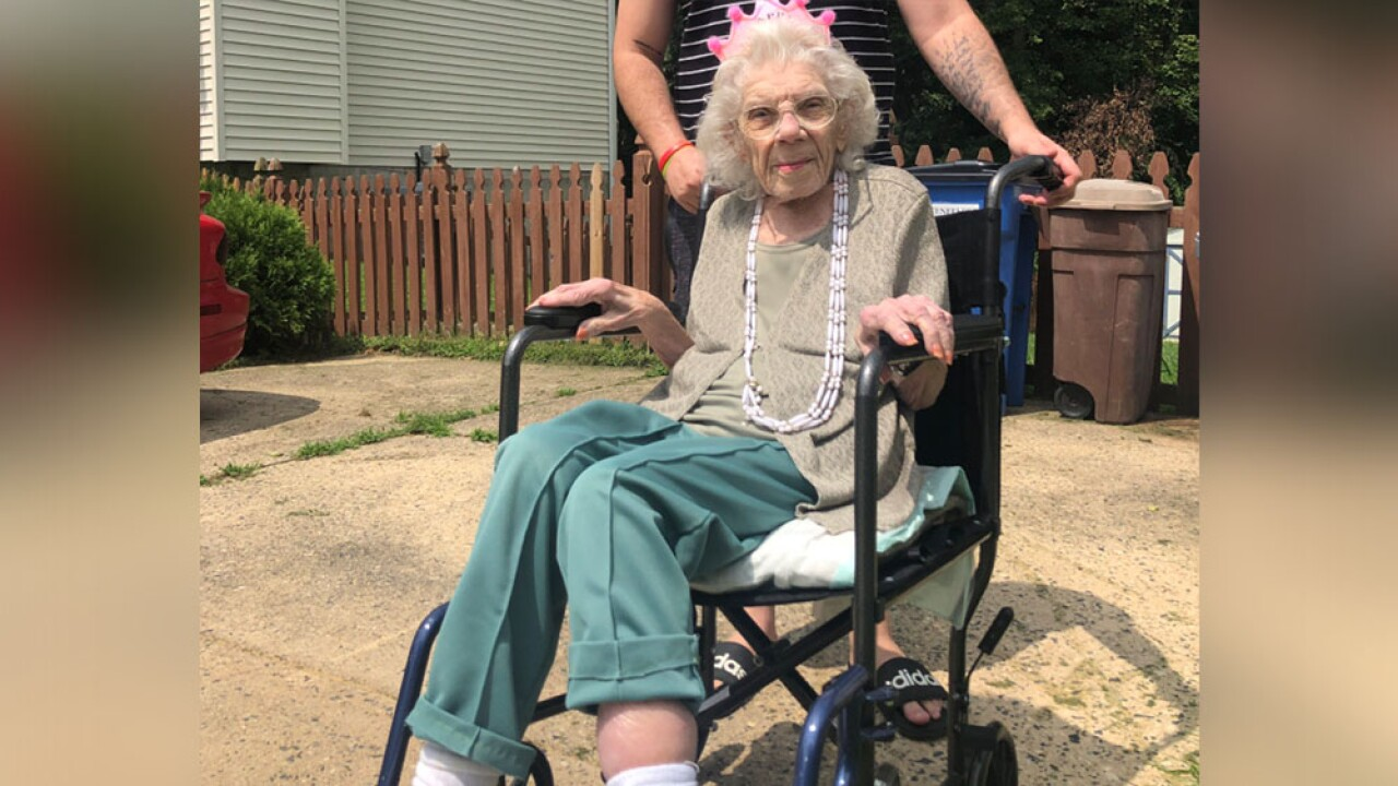 Drive-by parade held for Harford County woman turning 106.jpg