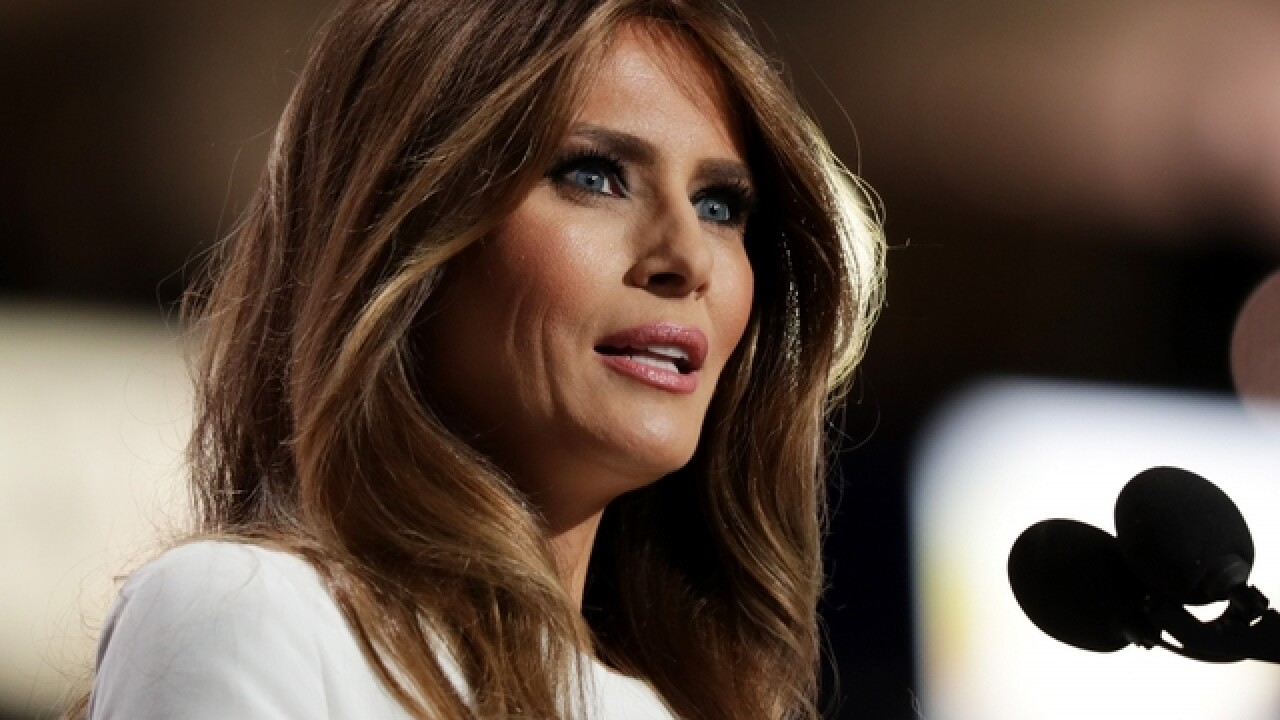 Melania Trump touts equality at International Women's Day luncheon