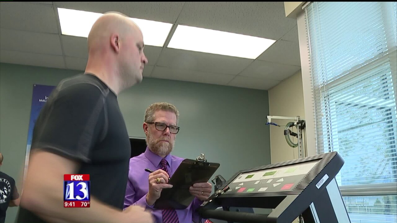 Local first responders ramp up physical fitnesstesting