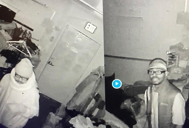Alleged Burglar