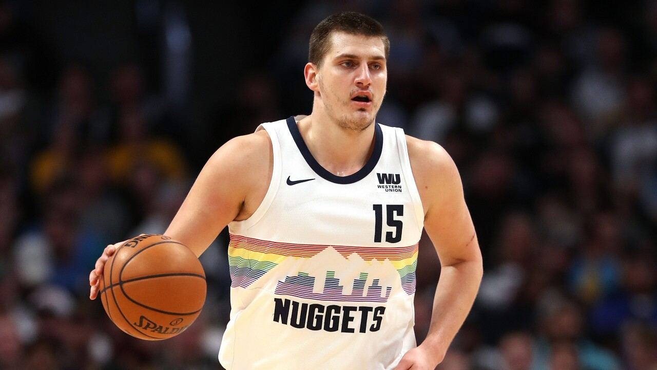 wholesale dealer 2a480 ace44 Nikola Jokic chosen as Western Conference All-Star Reserve ...