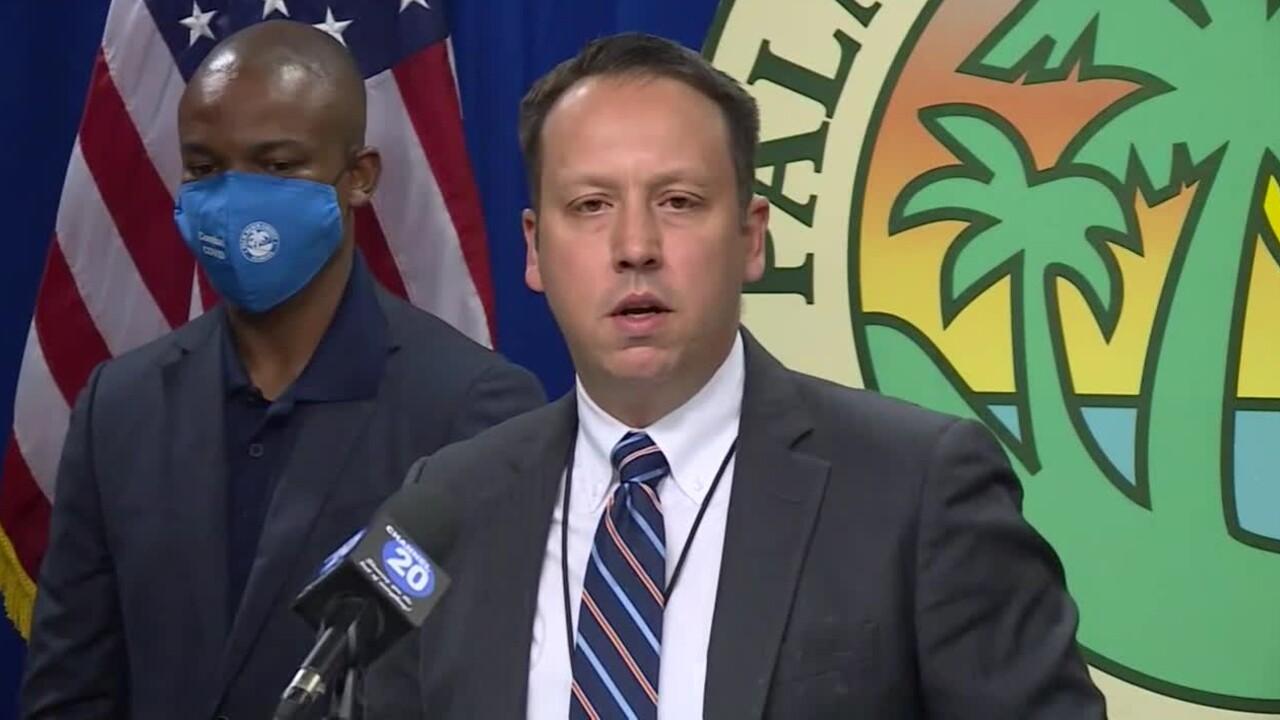 Palm Beach County Mayor Dave Kerner, Sept. 4, 2020