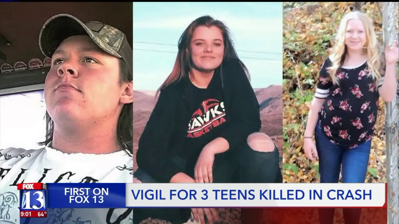 Candlelight vigil in Mt. Pleasant for three teens killed in Friday crash