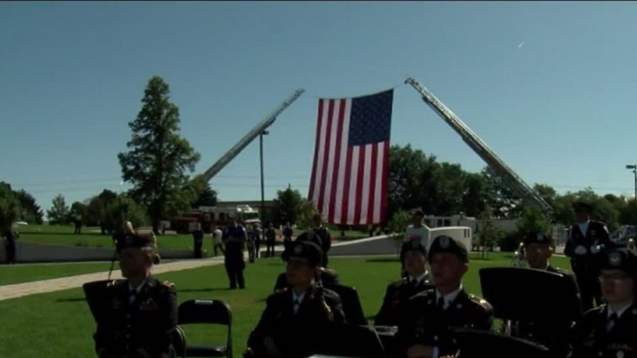 Colorado Springs 9/11 ceremony