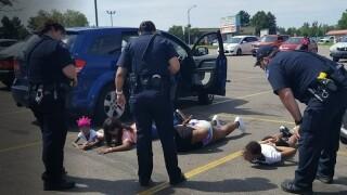 Aurora black family detained