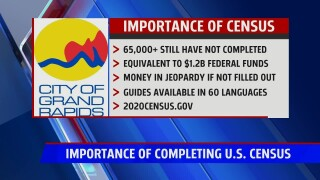 Importance of filling out the  2020 census