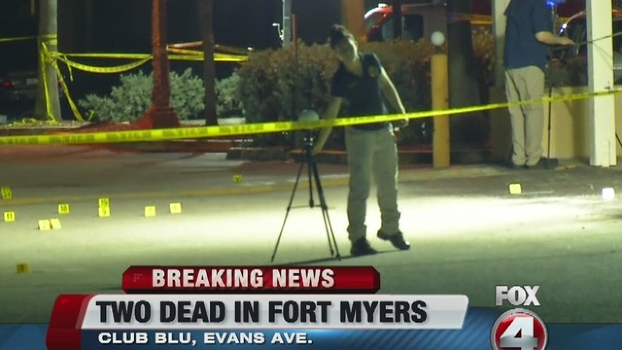 Major police presence at two locations in...