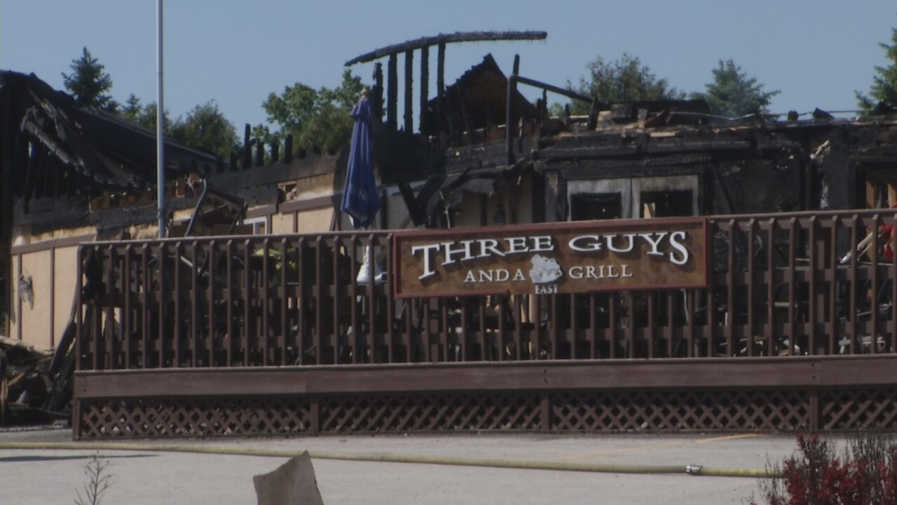 Three Guys and a Grill East near Elkhart Lake closed after fire