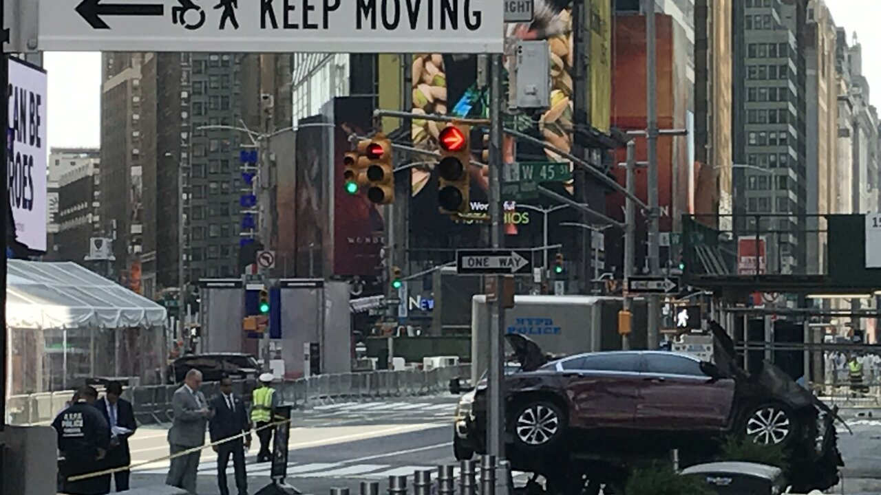 Photos show Times Square driver trying to flee carnage