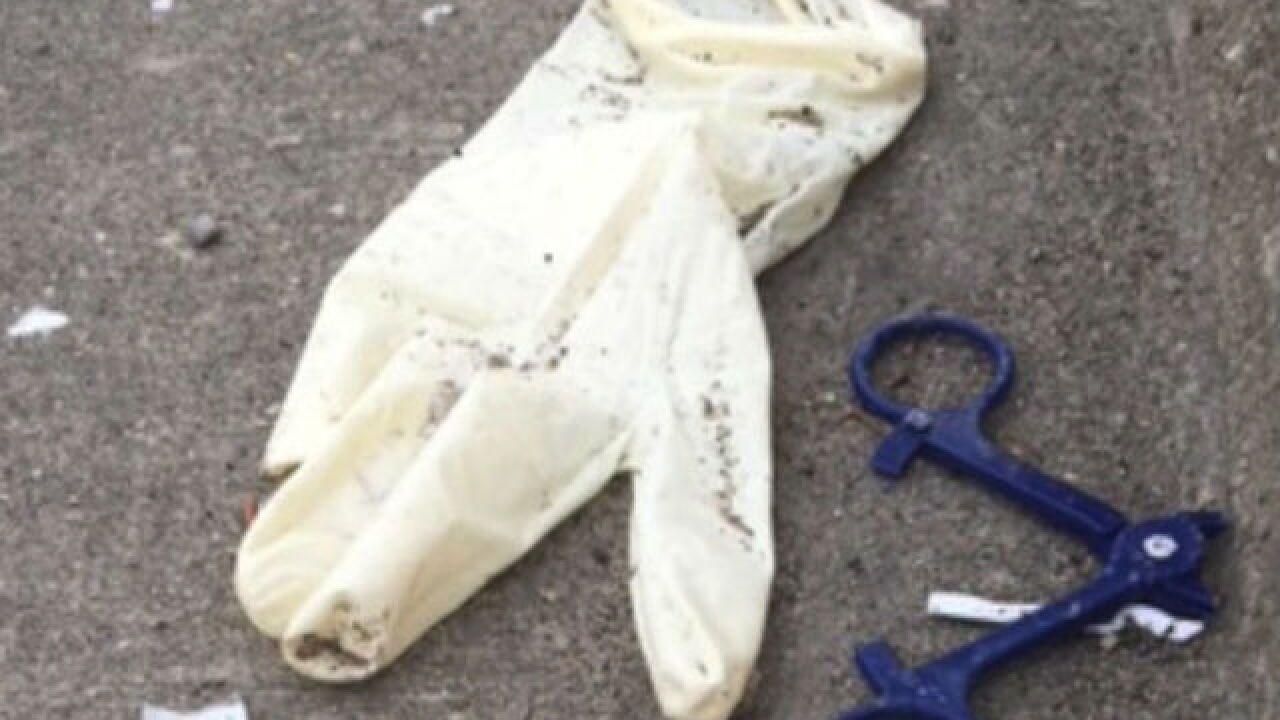 Syringes, medication found on Greenwood roadside