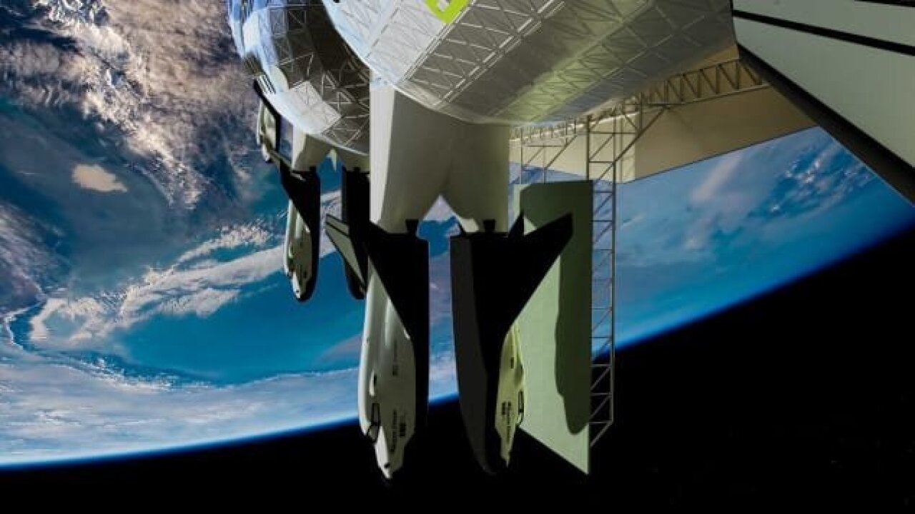 This company hopes to open a hotel in space within 8 years, and it just released design photos