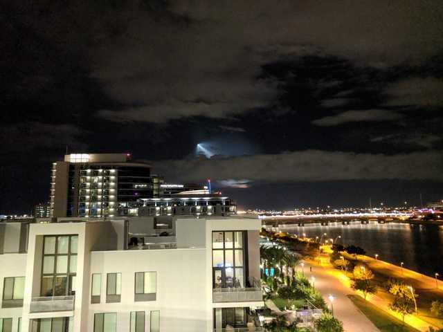 PHOTOS: SpaceX launch in California seen from Phoenix