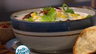Ann Cox Eastes' Recipe for Shrimp & Corn Chowder