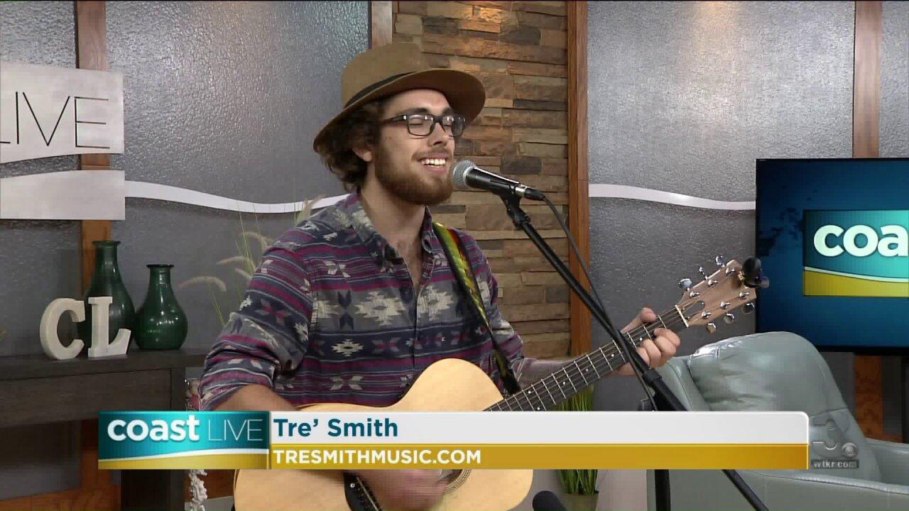 Local music spotlight with Tre' Smith on CoastLive