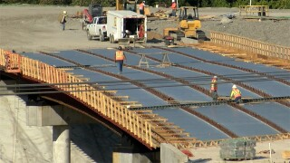 Vaccine requirement concerns construction contractors