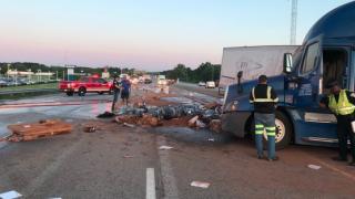 Indiana semi crash