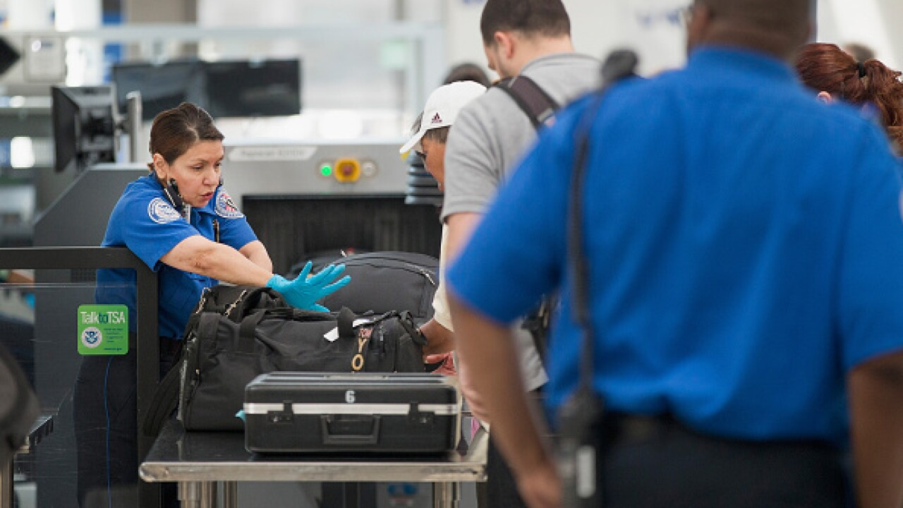 TSA found record 2,653 guns in carry-on bags last year