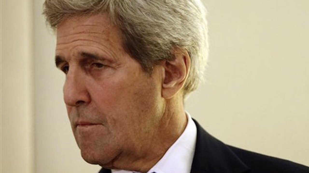 John Kerry says negotiations for Syrian ceasefire at an impasse