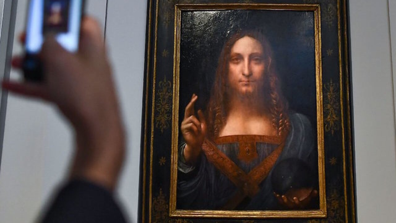Rediscovered Leonardo da Vinci painting expected to fetch $100M